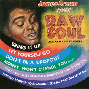 James Brown Sings Raw Soul Albumcover