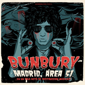 Bunbury El club de los imposibles - Directo Madrid cover