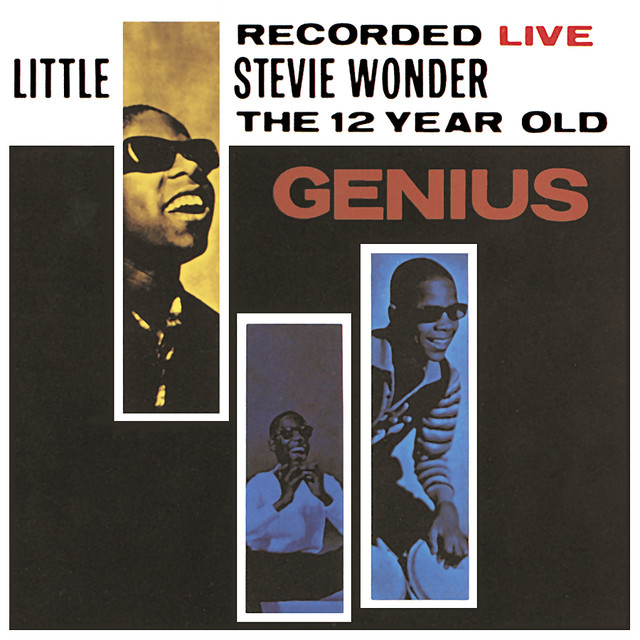 Stevie Wonder Recorded Live: The 12 Year Old Genius album cover