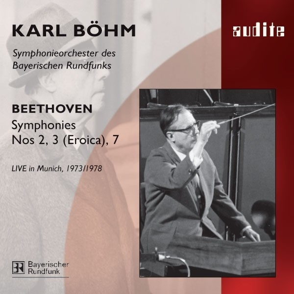 Ludwig Van Beethoven: Symphony No. 2, No. 3 (Eroica) & No. 7 Albumcover