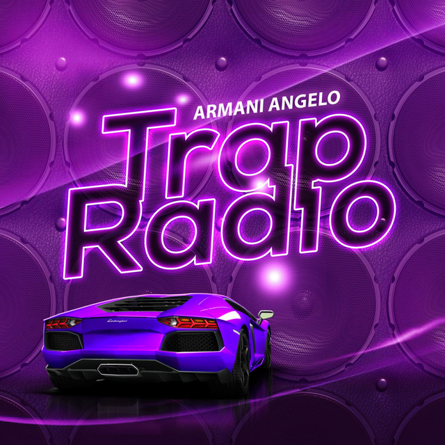 Album cover for Trap Rad by Armani Angelo