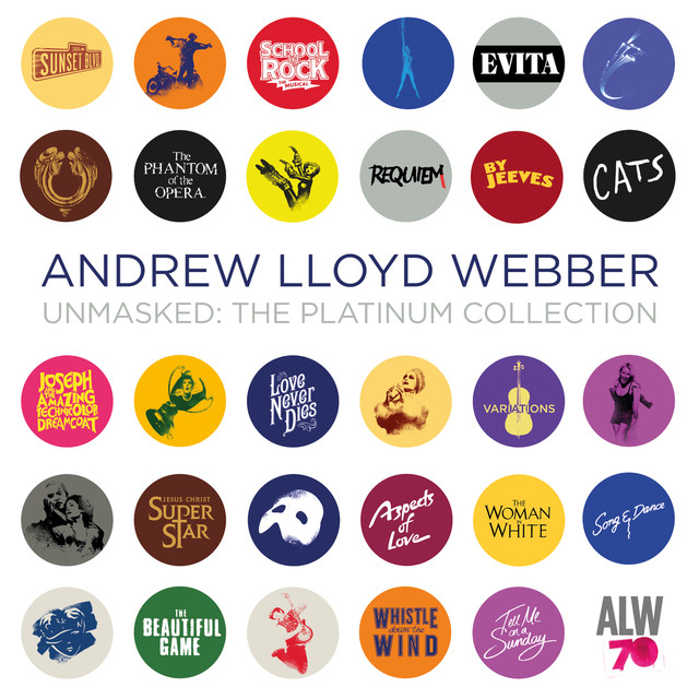 Andrew Lloyd Webber Unmasked: The Platinum Collection (Deluxe) album cover