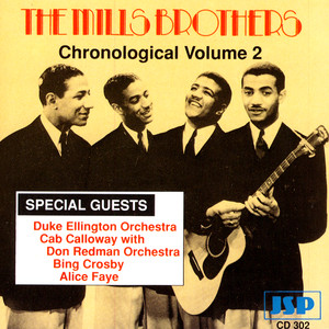 The Mills Brothers Bing Crosby My Honey's Lovin' Arms cover
