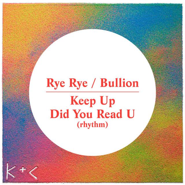 Keep Up / Did You Read U (Rhythm)