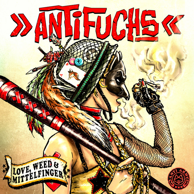 Album cover for Love, Weed & Mittelfinger by Antifuchs