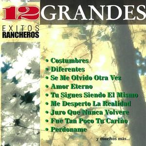 12 Grandes Exitos Rancheros Albumcover