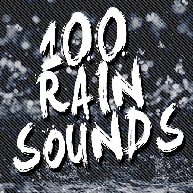 100 Rain Sounds Albumcover