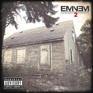 The Marshall Mathers LP2 (Deluxe) Albumcover