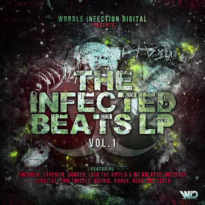 The Infected Beats LP Vol.01 Albumcover