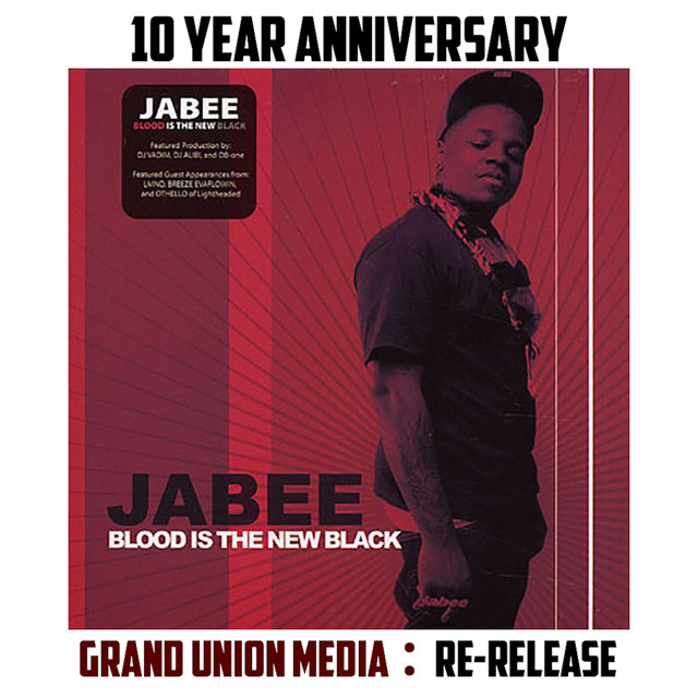 Album cover for Blood is the New Black (Re:issue) by Jabee