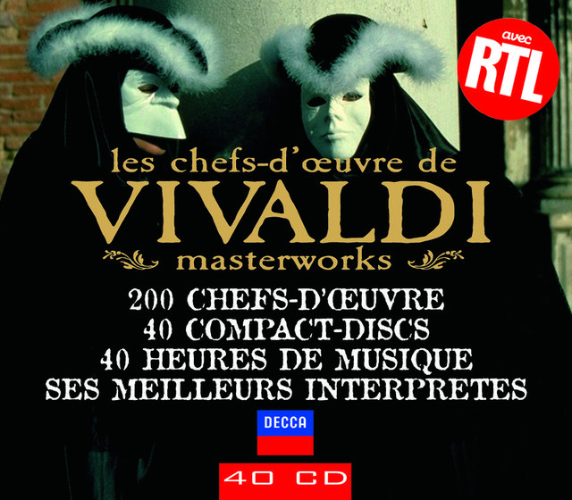 Les chefs-d'oeuvre de Vivaldi Albumcover