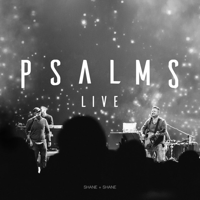 Album cover for Psalms Live by Shane & Shane