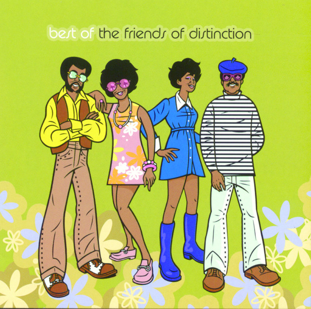 The Friends of Distinction The Best of the Friends of Distinction album cover