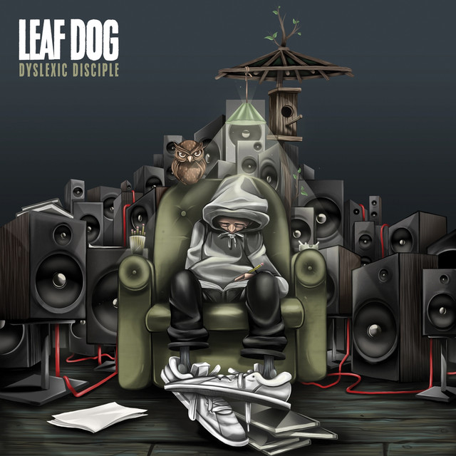Album cover for Dyslexic Disciple by Leaf Dog
