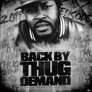 Back By Thug Demand The Mixed Tape Albumcover