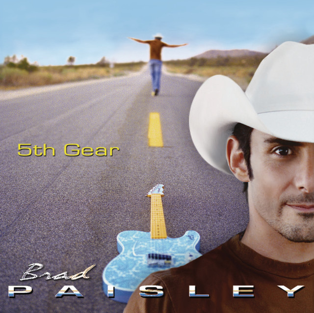 Brad Paisley 5th Gear album cover