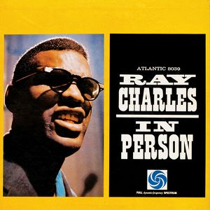 Ray Charles In Person Albumcover
