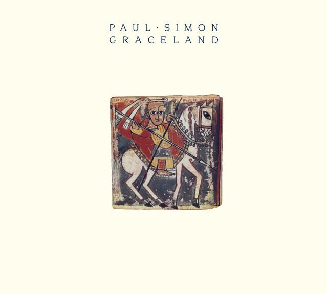 Skivomslag för Paul Simon: Graceland