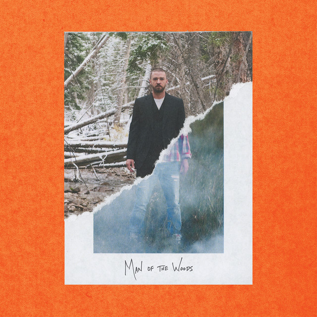 Album cover for Man of the Woods by Justin Timberlake