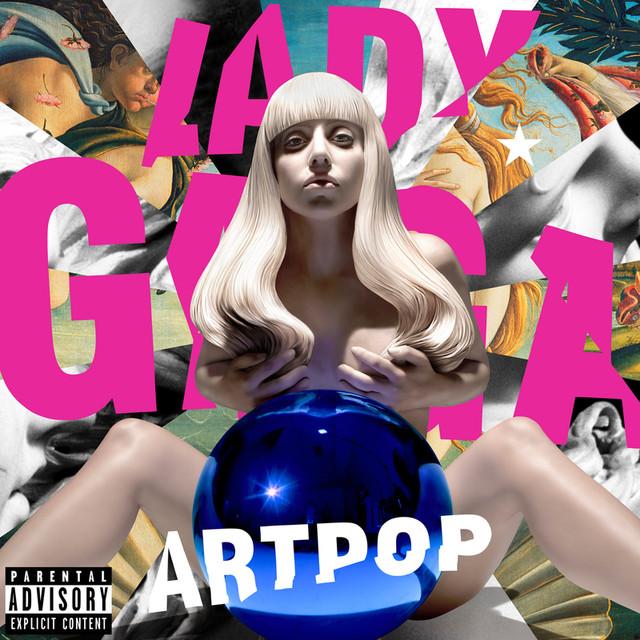 Skivomslag för Lady Gaga: Artpop