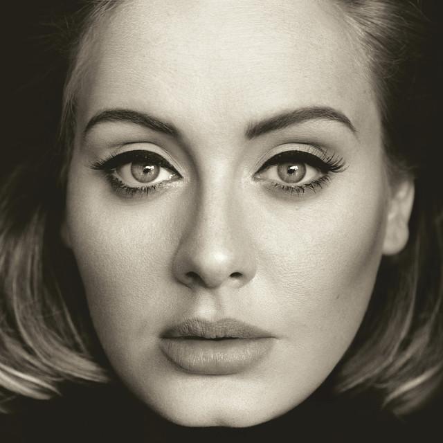 Skivomslag för Adele: 25