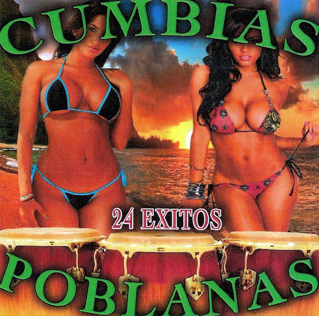 Album cover for 24 Exitos by Cumbias Poblanas