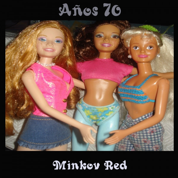 Album cover for Años 70 by Minkov Red
