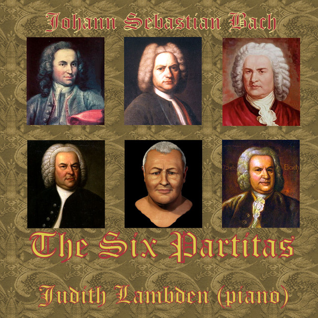 Bach: Partitas Nos. 1-6 Albumcover