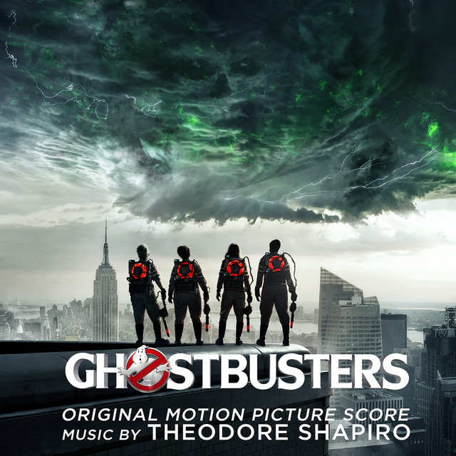 Album cover for Ghostbusters (Original Motion Picture Score) by Theodore Shapiro