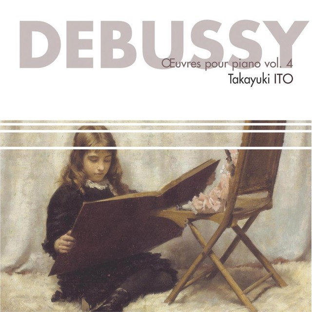 Debussy : Oeuvres pour piano, vol. 4 Albumcover