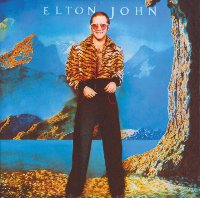 Elton John Caribou album cover