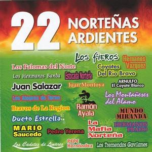 22 Nortenas Ardientes Albumcover