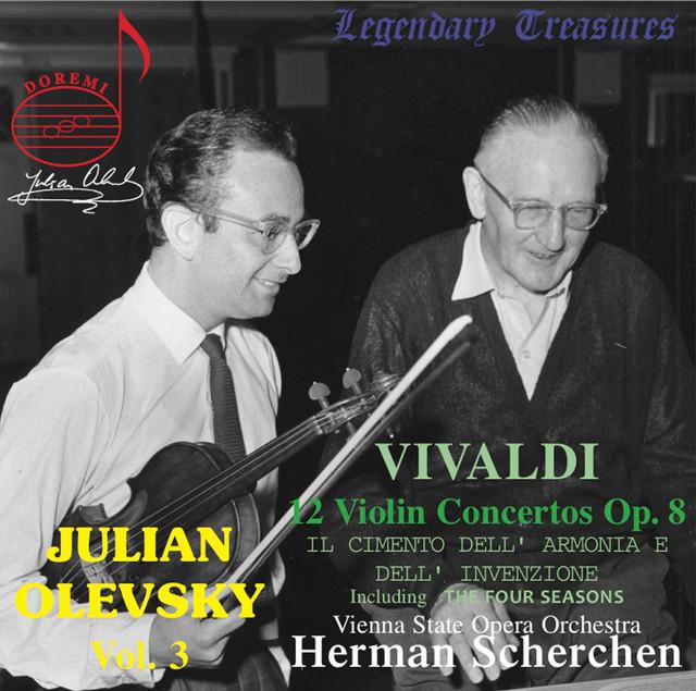Julian Olevsky, Vol. 3: Vivaldi Violin Concertos