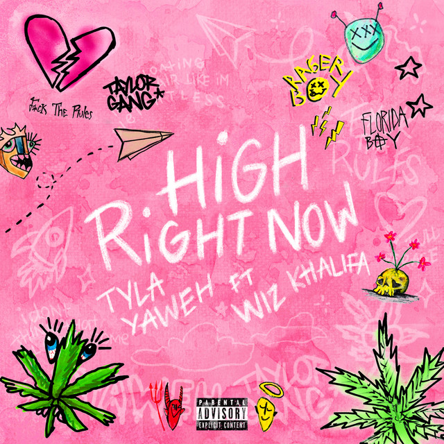 Tyla Yaweh - High Right Now (feat. Wiz Khalifa) [Remix] cover