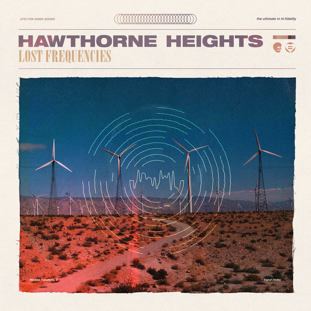 Album cover for Lost Frequencies by Hawthorne Heights