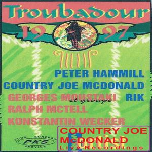 Live at Troubadour Festival 1997 album
