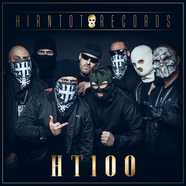 Album cover for Hirntot Records: HT100 by Hirntot Posse