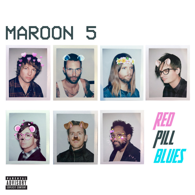 Maroon 5 Red Pill Blues (Deluxe) album cover