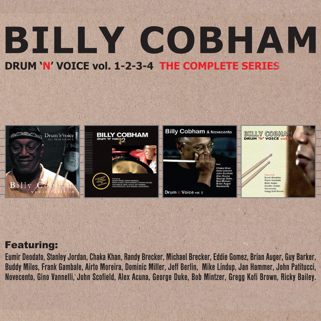 Drum'n Voice, Vols. 1, 2, 3 & 4 (The Complete Series)
