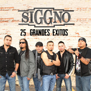 Siggno 25 Grandes Exitos/2006-2012 Albumcover