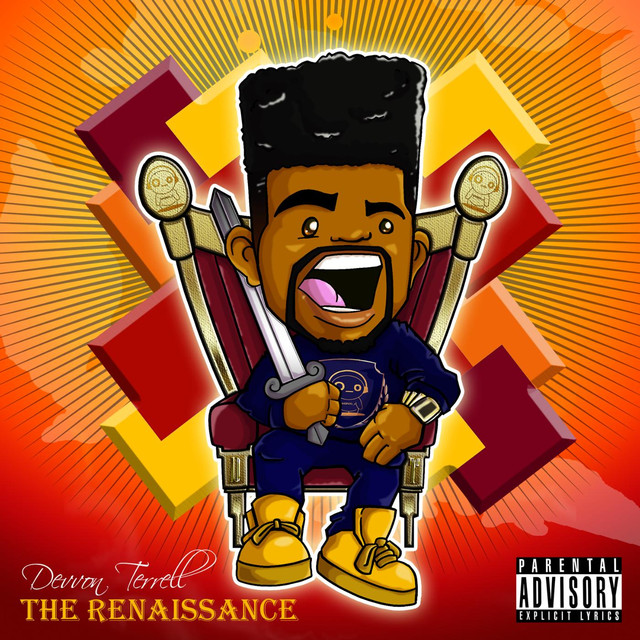Album cover for The Renaissance by Devvon Terrell