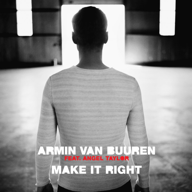 Armin van Buuren Make It Right album cover