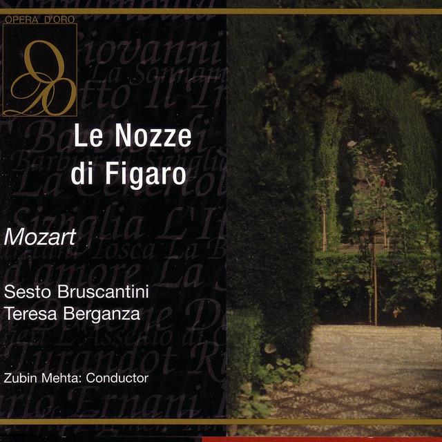 Wolfgang Amadeus Mozart, Philharmonia Orchestra, The John Alldis Choir, Otto Klemperer Le nozze di Figaro album cover
