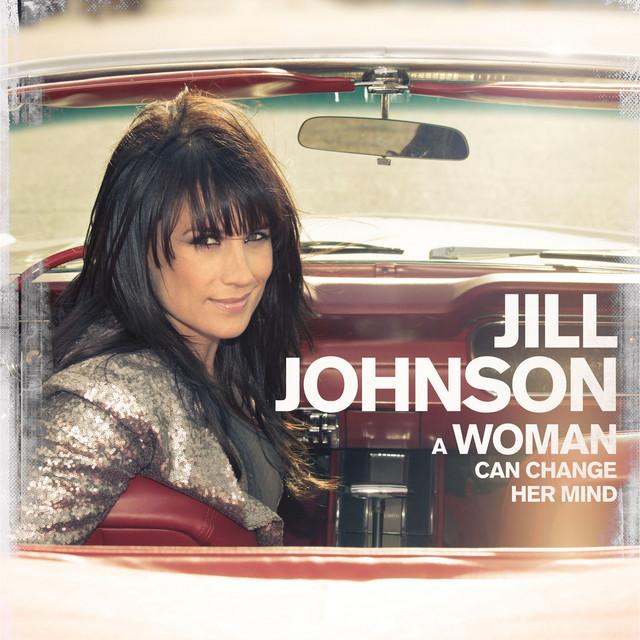 Skivomslag för Jill Johnson: A Woman Can Change Her Mind