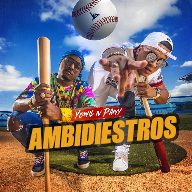 Album cover for Ambidiestros by Yomil y El Dany