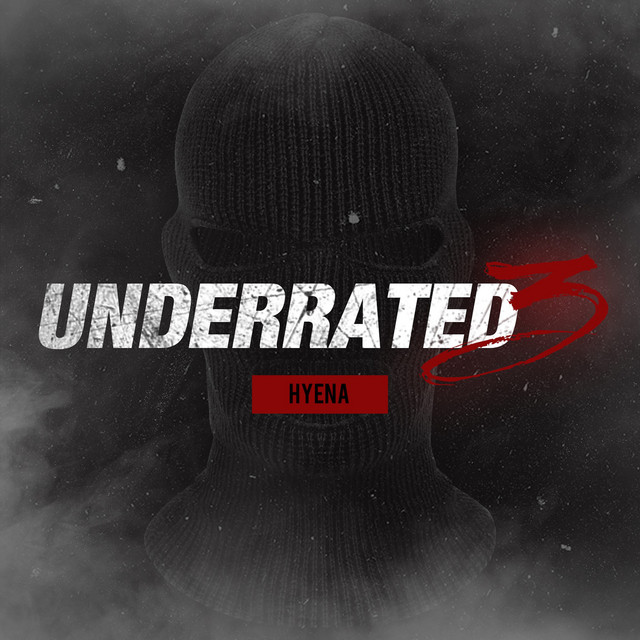 Album cover for Underrated 3 by Hyena