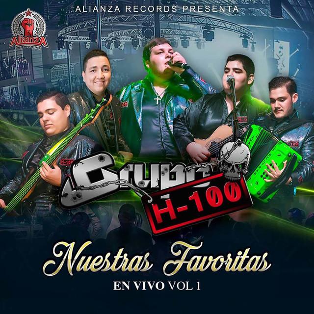 Album cover for Nuestras Favoritas en Vivo, Vol.1 by Grupo H100