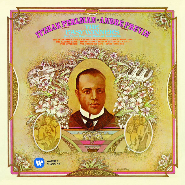 The Easy Winners & Other Rag-Time Music of Scott Joplin Albumcover
