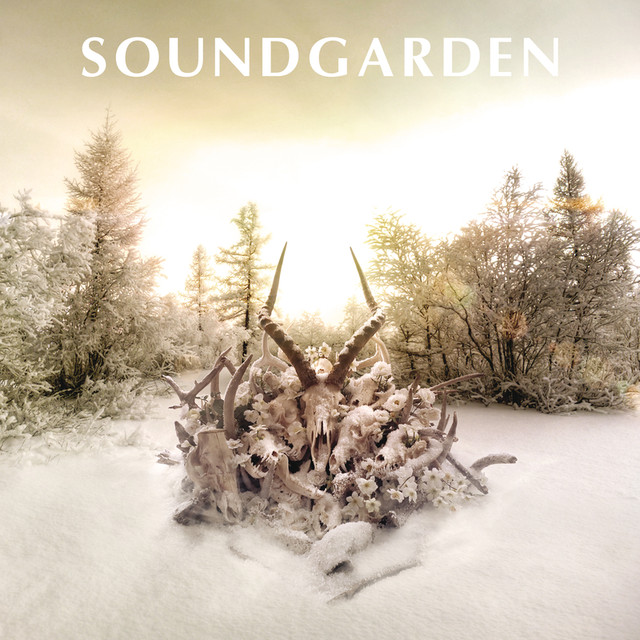Album cover for King Animal by Soundgarden
