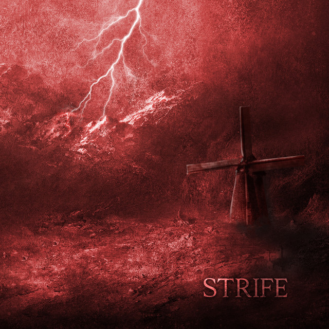 Album cover for Strife by Loch Vostok